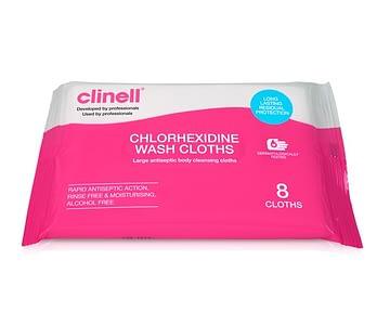 Clinell_Chlorhexidine_Wash_Cloths